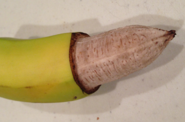 Circumcised Banana After Time